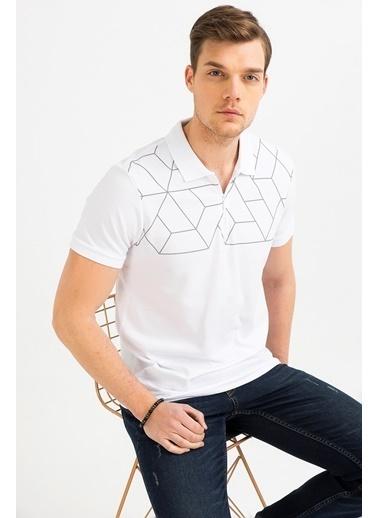 Avva Erkek  Polo Yarım Fermuarlı Tişört A01S1276 Gri